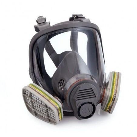 Masque complet A2 P2 pour carrosserie. Protection respiratoire haute qualité 3M.