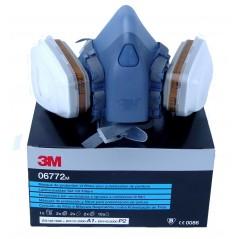 Demi-masque A1 P2 7000 avec ensemble complet taille M ou L - 3M
