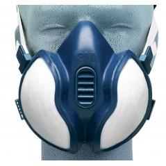 Masques 3M antivapeur et contre les particules. FFA1P2D ou FFA2P3D.