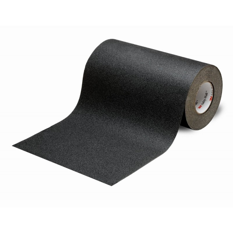 Revêtement antidérapant résistant Safety walk noir 51 mm x 18