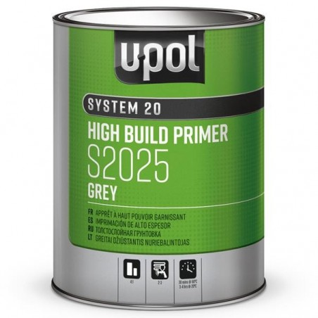 APPRÊT peinture voiture GARNISSANT GRIS 1l  - UPOL S2025/1 (4:1)