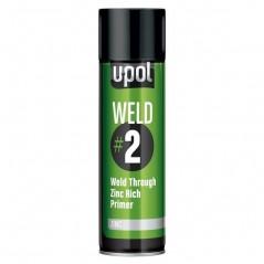 Apprêt soudure zinc 1K en aérosol 450 ml - UPOL WELD/AL