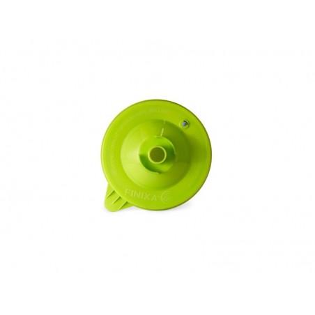 Couvercle vert FPS amélioré de 125 microns à fixer sur le gobelet.