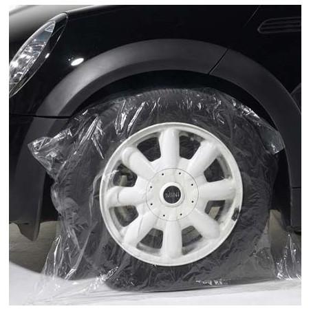 Housse de protection pour roue en plastique