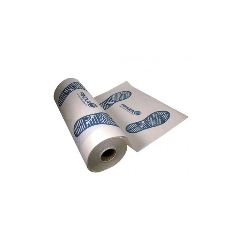 Tapis de sol en papier sur rouleau pour protéger le sol auto. FINIXA PAP 60.