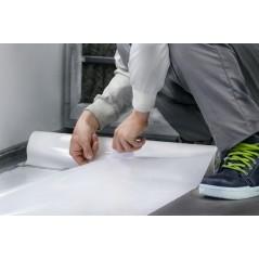 Film de protection auto-collant 60cm pour cabine de mise en peinture carrosserie.
