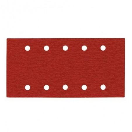 Papier abrasif 115 x 230 mm 10 trous