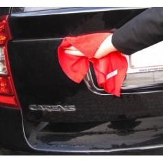 Chiffon microfibre pour le lavage auto normal et nettoyage auto à sec.