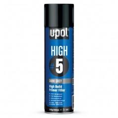 Apprêt peinture auto garnissant gris foncé en spray. Couche aussi épaisse que si appliquée au pistolet de peinture.