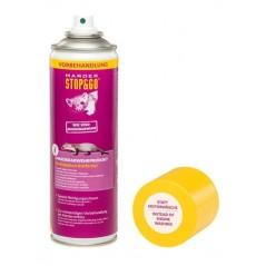 La solution de nettoyage préalable avant d'installer les protections voiture contre martres.