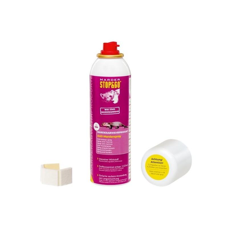 Pulvériser cette solution olfactive sur les accumulateurs d'odeur que vous collerez dans le compartiment moteur.