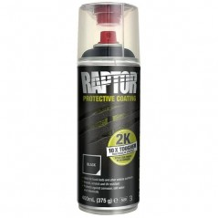 Revêtement de protection RAPTOR NOIR en spray 2K 400 ml  UPOL-RLB/AL