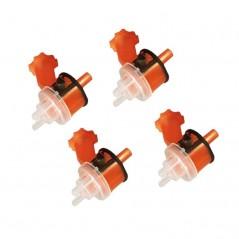 Les têtes de pulvérisation orange 1.4 mm 3M pour pistolet de pulvérisation Accuspray.