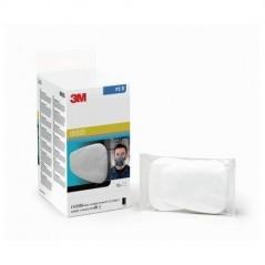 20 filtres à particules 3M par boîte. Pour les masques 6000 et 7000 Bloquer les particules liquides et solides.