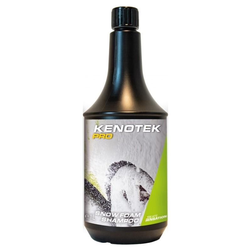 Kenotek PRO snow foam shampoo 1L. Nettoyez l'extérieur du véhicule en profondeur.