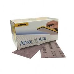 Papier abrasif 115 x 230 mm velcro - MIRKA ABRANET ACE. Un ponçage en carrosserie sans poussière.