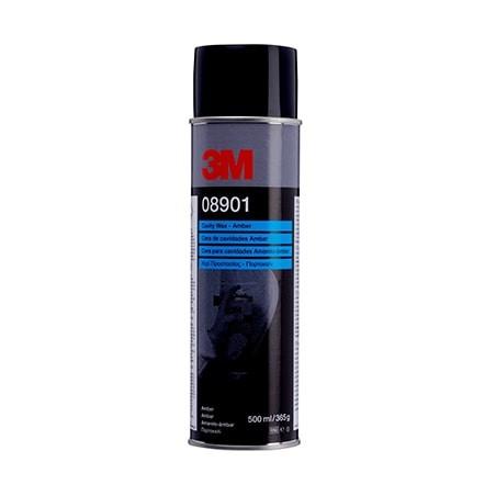 Cire en spray ambre 3M-08901 pour protéger les corps creux difficilement accessibles.