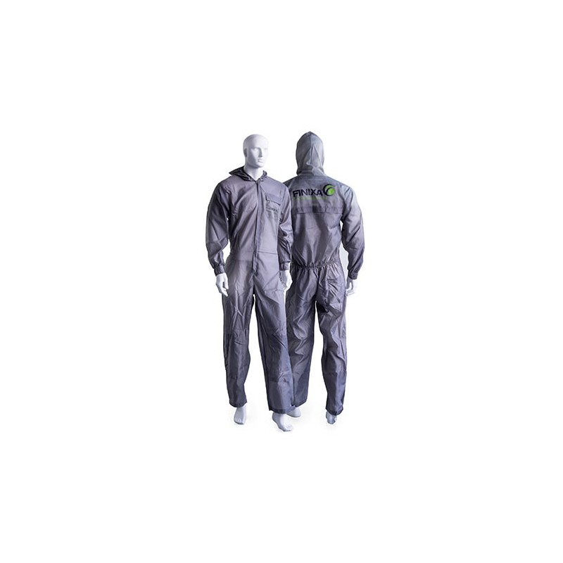 Combinaison de peinture polyester avec protection genoux FINIXA SOG.