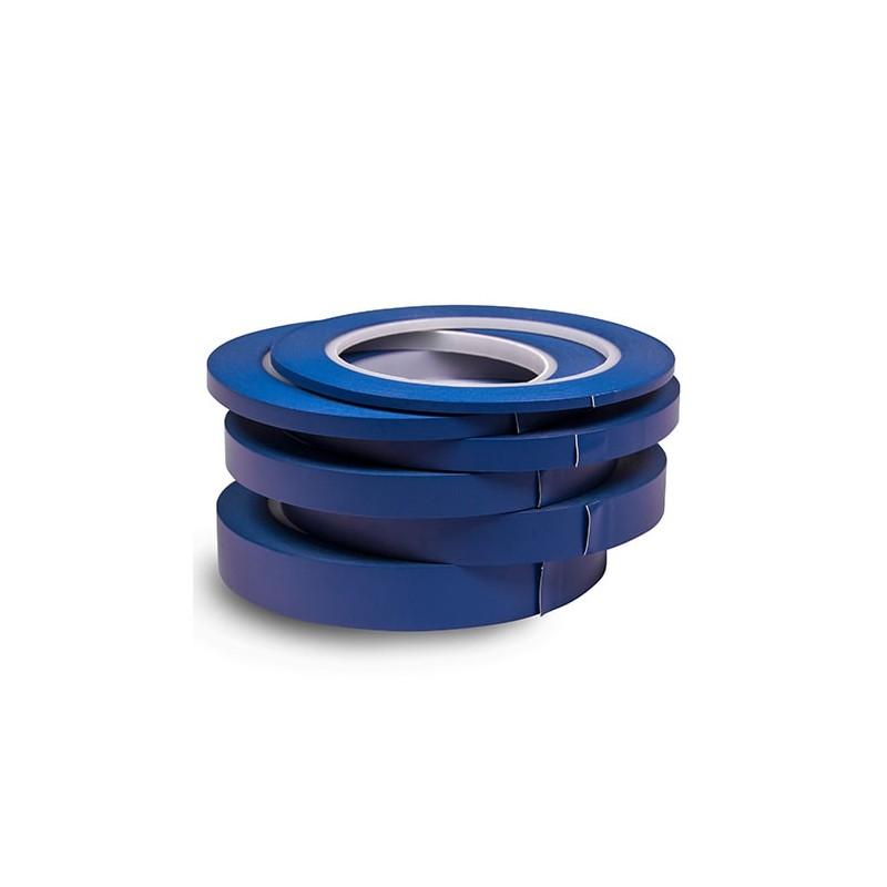 Finixa fine line tape bleu pour masquer des voitures, des pièces ou n'importe quel surface avant l'application de la peinture.