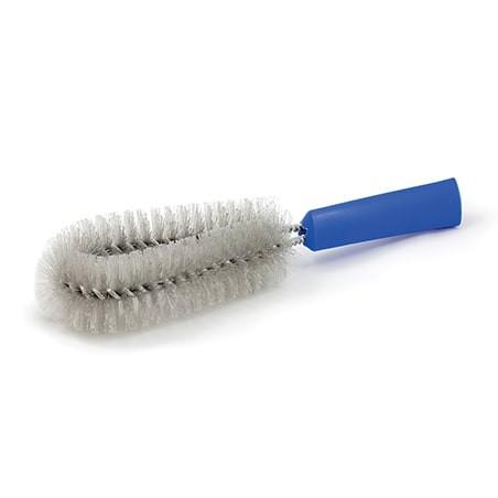 BROSSE JANTES à fibres dures pour enlever les graisses et nettoyer vos jantes voiture en profondeur.