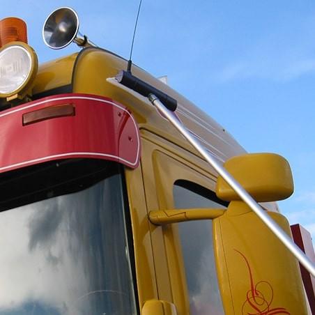Raclette séchage en hauteur pour grand véhicule