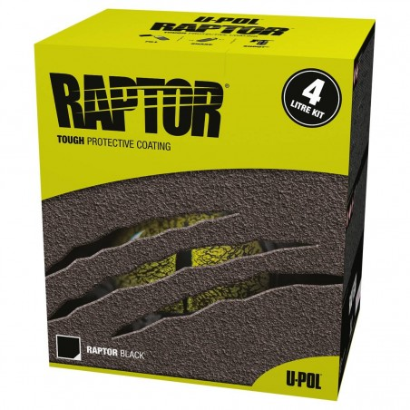 Revêtement de protection Kit 4L noir RLB/S4 - UPOL RAPTOR