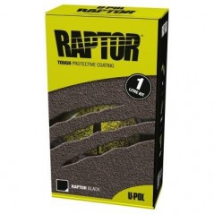 Revêtement de protection RAPTOR noir RLB/S1 en kit de 1 litre - UPOL RAPTOR