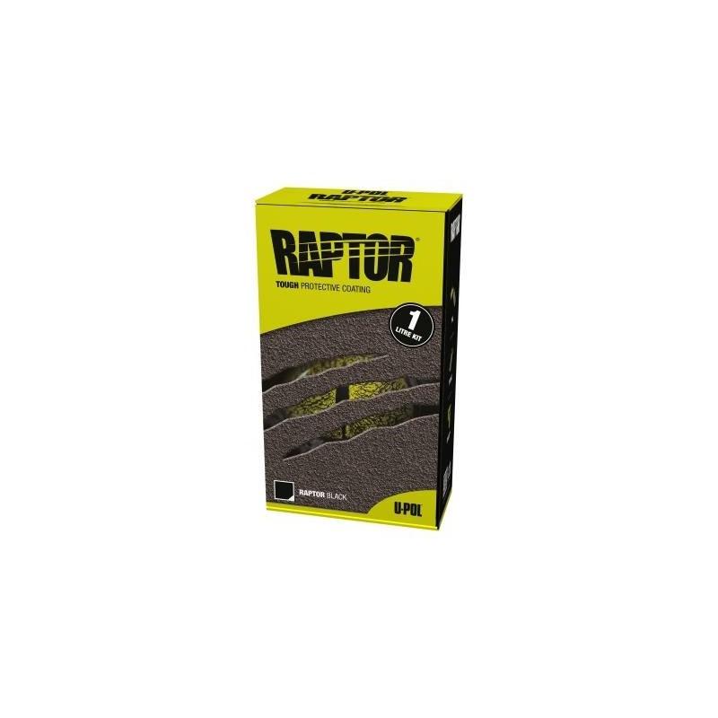 Revêtement de protection RAPTOR noir RLB/S1 en kit de 1 litre - UPOL RAPTOR