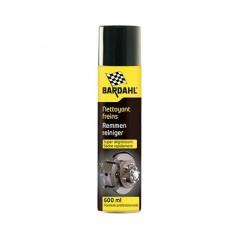 Nettoyant frein BARDAHL 4455 pour éliminer huile, graisse, goudron, poussières et liquide de freinage.