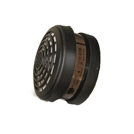 Cartouche anti-poussières et anti-gaz A2 P3 pour masque de pistolage FINIXA MAS 03