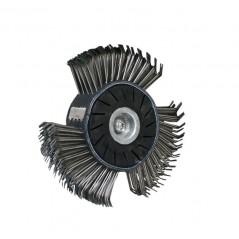 Brosse métallique de décapage pour brosseuse pneumatique