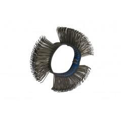 brosse en métal pour brosseuse à air comprimé pour carrosserie.