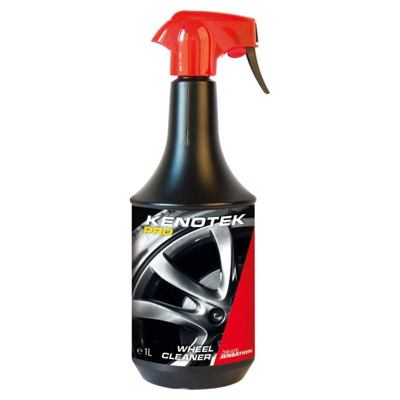 Kenotek PRO Wheel Cleaner 1L. Un nettoyant puissant pour des jantes de voiture brillantes.