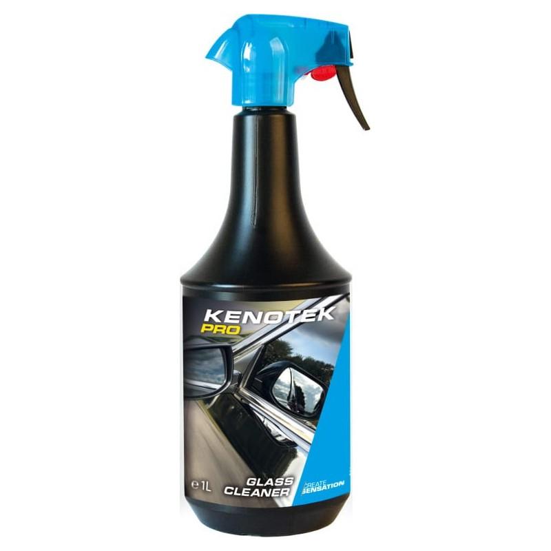 Kenotek PRO Glass Cleaner 1L. Nettoyant vitre de haute qualité pour voiture.