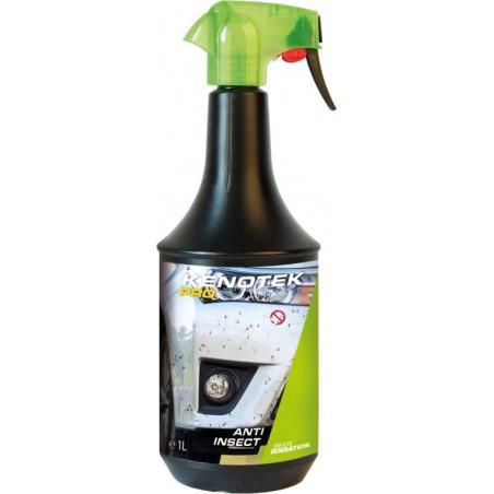 Kenotek PRO Anti Insect 1L, un nettoyant auto pour traces d'insectes sur la calandre ou le pare-brise.