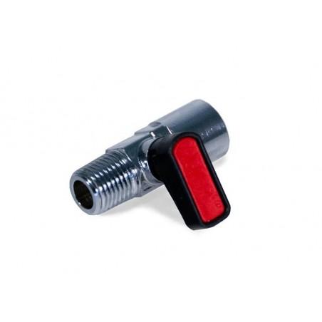 Robinet d'air comprimé  FINIXA EQU 024. Déconnectez vos outils pneumatiques en toute sécurité.