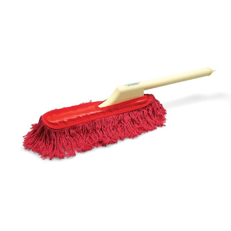 Lustreuse Nènette avec manche en plastique California Car Duster. Attire la poussière et les saletés comme un aimant.