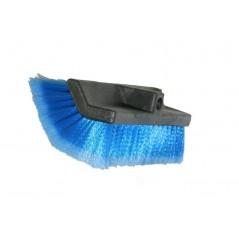 BROSSE BIFACE POUR AUTO.  Lavez efficacement la carrosserie sans la griffer.