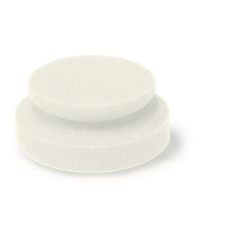 Mousse manuelle blanche medium - FINIXA POL 34.  Pour appliquer le gel rénovation des plastiques et des cuirs