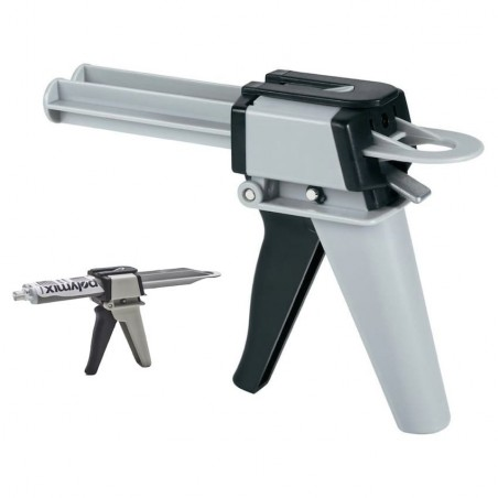 Pistolet en métal pour colle bi-composant 50 ml - POLYMIX GUNS.050