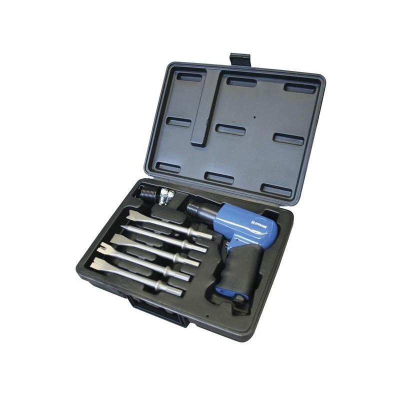 Coffret marteau piqueur avec 5 burins de 175mm PREVOST TAH0663000K