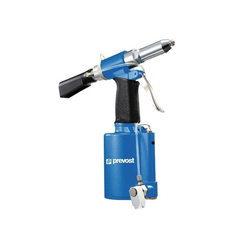 Riveteuse hydropneumatique - rivets 2,4 à 4,8mm (TAR481220) ou 2,4 mm à 6,4 mm (TAR641895)  - PREVOST