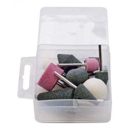 Coffret de 10 pierres pour meuleuses - PREVOST TDGKIT10