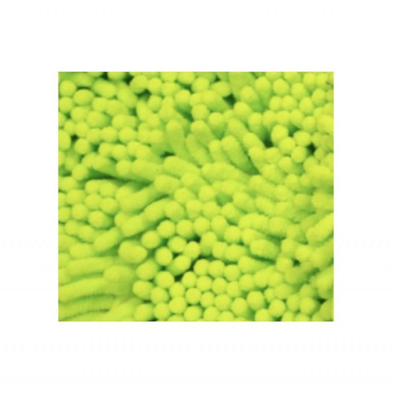 Gant vert de lavage auto microfibre 2 faces