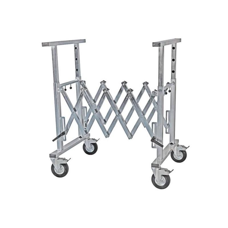 Tréteau extensible multifonctions - spécifique carrosseries industrielles
