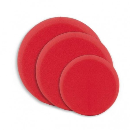 Mousse de polissage rouge - Dure pour enlever les rayures du ponçage du P2000.