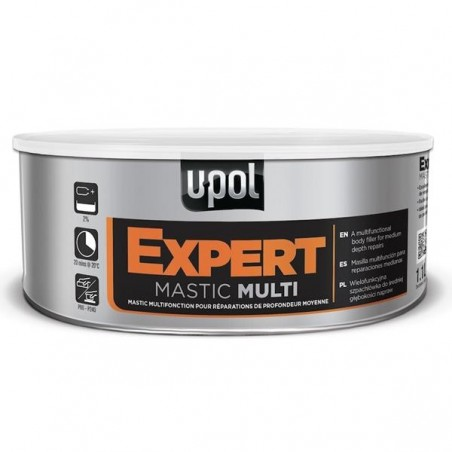 MASTIC MULTIFONCTION MULTI BEIGE UPOL-17-4682. Mastic 2K pour application charge moyenne ou finition.