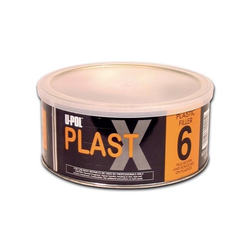 MASTIC POUR PLASTIQUES TRÈS FLEXIBLE NOIR 600ml - UPOL PLAST X