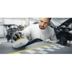 Les disques abrasifs IRIDIUM pour poncer les surfaces dures ou tendres en carrosserie.