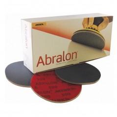 Disque abrasif 150 mm velcro multifonctions sur mousse - MIRKA ABRALON